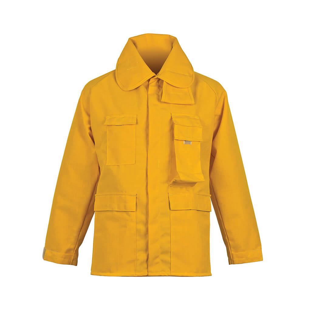 CrewBoss™ Brush Coat 6.0 oz. (Nomex) IIIA - Yellow