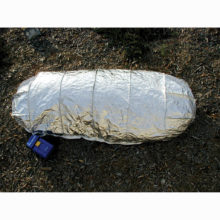 New Generation Fire Shelter open