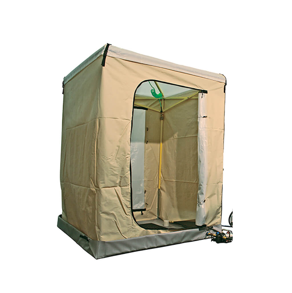 Single Stall Decon Shower
