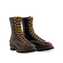 Wesco® Jobmaster Boot Brown Lace to Toe