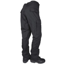 TruSpec Classi BDU Cotton Poly Rip Stop Black back
