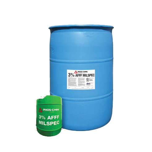 PHOS-CHEK 3% AFFF MilSpec C6 Foam - 55 Gallon Drum