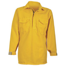 CrewBoss™ Hickory Brush Shirt 6.0 oz (Nomex) - Yellow