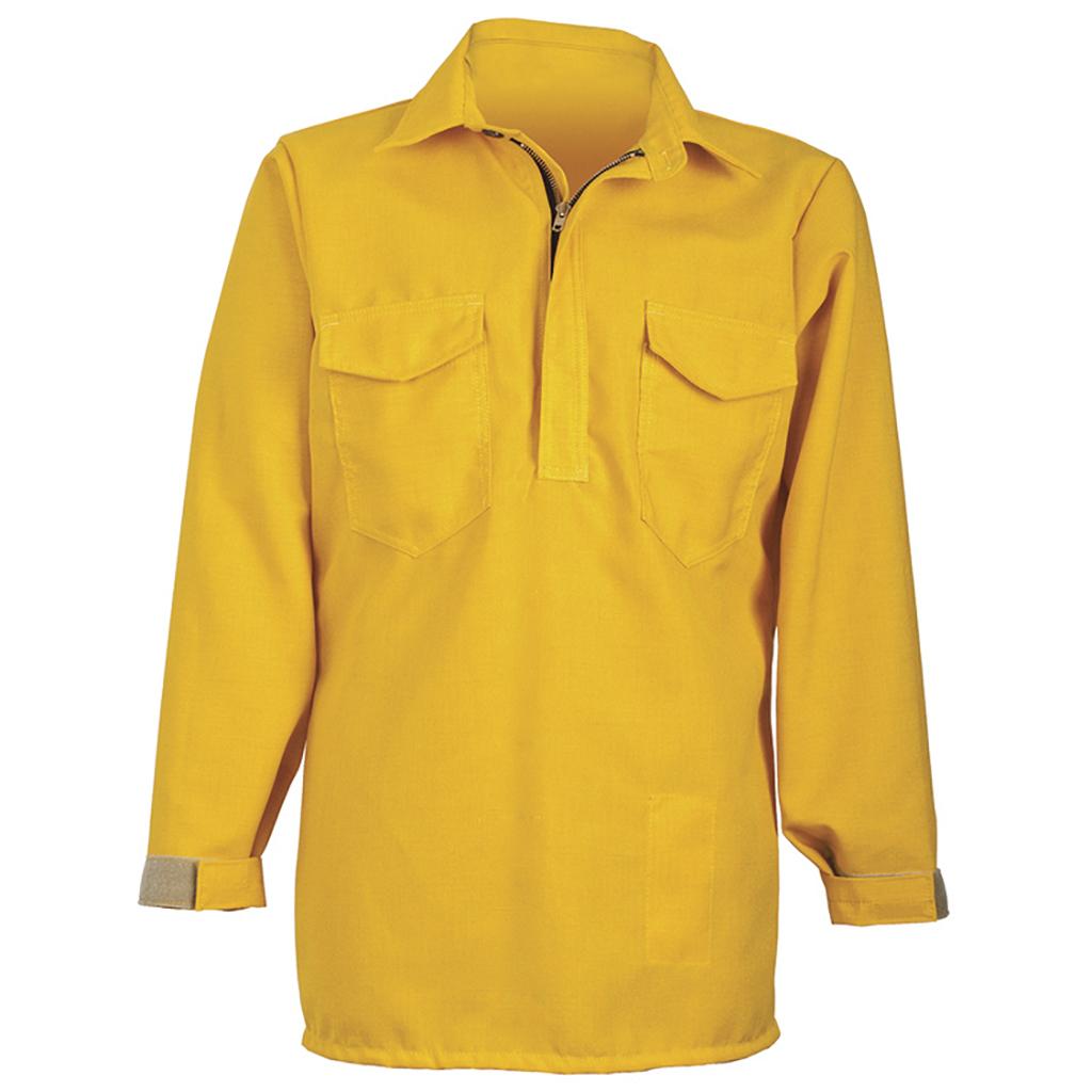 CrewBoss™ Hickory Brush Shirt 6.0 oz (Nomex) - Yellow