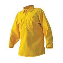 CrewBoss™ Hickory Brush Shirt 5.8 oz Tecasafe® - Yellow