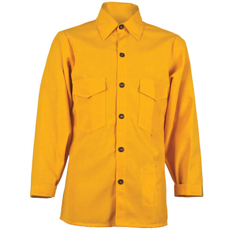 CrewBoss™ Traditional Shirt 6.0 oz. (Nomex) IIIA - Yellow