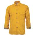 CrewBoss™ Traditional Brush Shirt 5.8 oz. Tecasafe Plus - Yellow