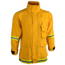 CrewBoss™ Interface Coat 7.0 oz. (Tecasafe) Plus - Yellow