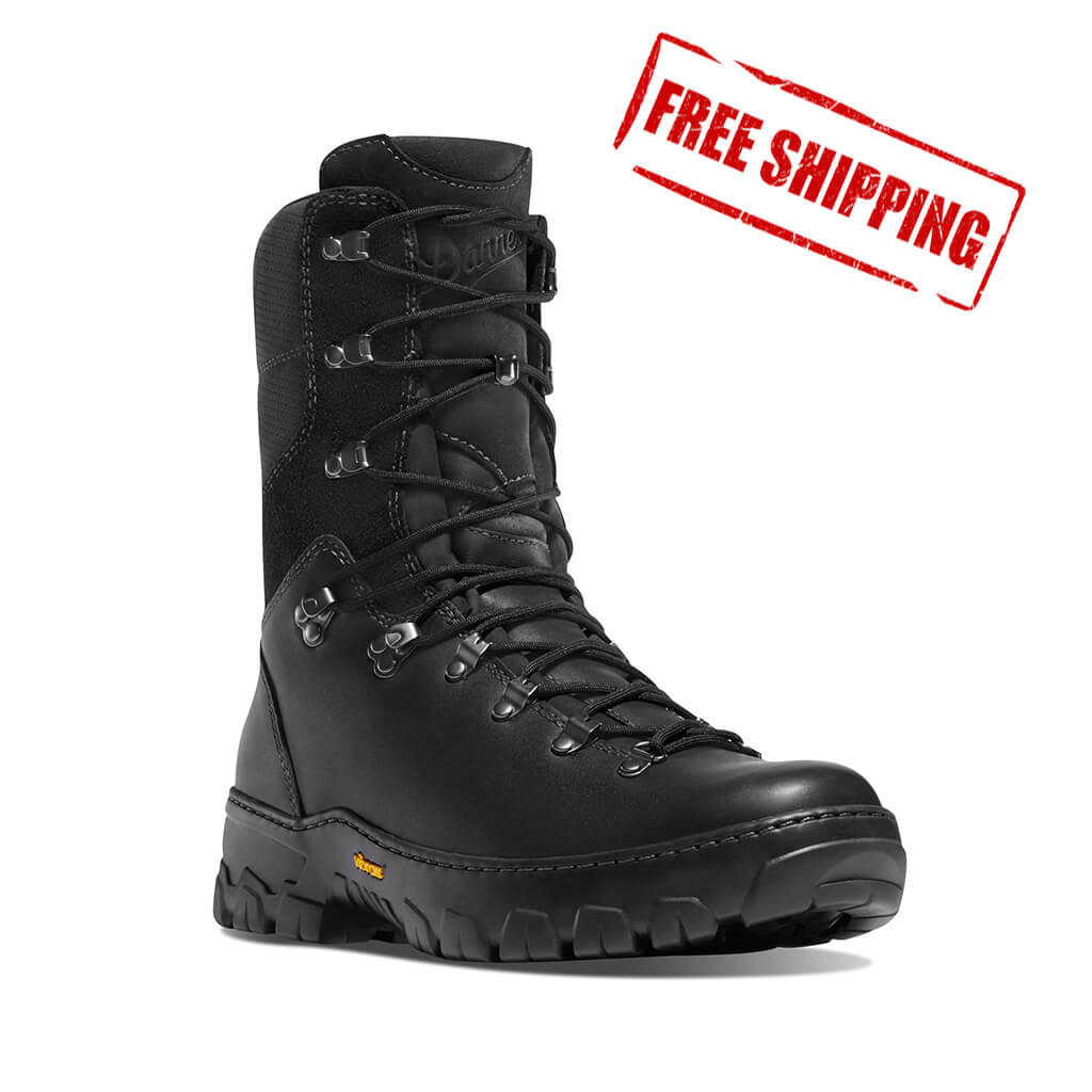 Danner® Wildland Tactical Firefighter Boot - Black Smooth